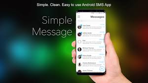 android sms app simple message clean simple android sms messenger app by