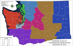 Arizona Congressional District Map by Daily Kos Elections Morning Digest Washington Redistricting