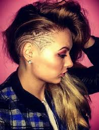 hair under ears cut hair 45 undercut hairstyles with hair tattoos for women fashionisers