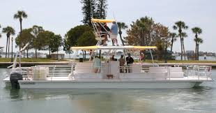 Pontoon Boat Design Ideas by Not Your Grand Pa U0027s Pontoon Boat Boat Design Net