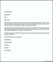 sample donation request letter templatezet