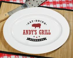 grill platter personalized bbq platter etsy
