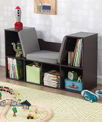Kidcraft Bookcase Kidkraft Espresso Bookcase U0026 Reading Nook Zulily