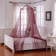 Baby Bed Net Canopy by Oasis Round Hoop Sheer Bed Canopy Walmart Com