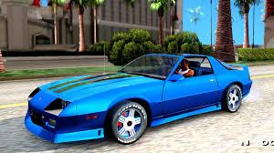 1992 camaro z28 1992 chevrolet camaro z28 2 pack gta san andreas