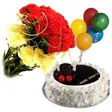 balloon and cake delivery deliver cakes at midnight in bangalore send birthday cake