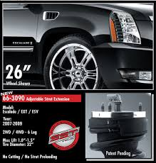2007 cadillac escalade front struts cadillac escalade 1 5 front leveling kit 4wd 2wd 2007 2016