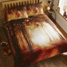 Forest Bedding Sets Glow In The Single Duvet Set Enchanted Forest