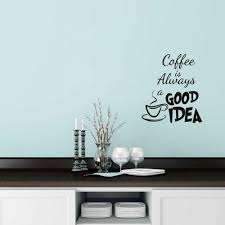 100 wall sticker quote home rules wall sticker quotes home wall sticker quote coffee is always a good idea vinyl wall decal coffee sticker quote