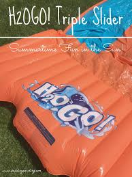 h2ogo summertime fun in the sun triple slider giveaway