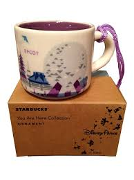 mug ornament christmas ornament starbucks mug epcot