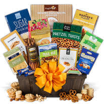 healthy snack gift basket gift baskets for college students candy and healthy ocm