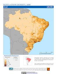 Venezuela Map Maps Population Density Grid V1 Sedac