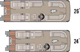 Pontoon Boat Floor Plans by 2014 Vista Rear Lounge Tahoe Pontoon Boats