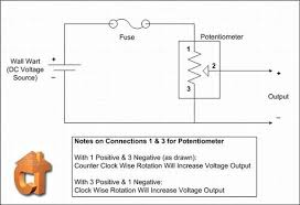 potentiometer wiring diagram u0026 precision potentiometer