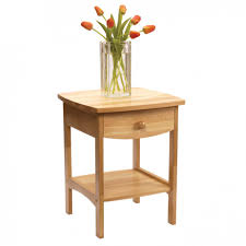flower table furniture interesting square light oak wood narrow stand
