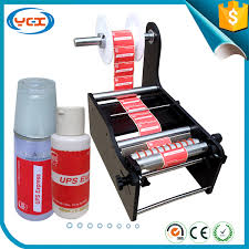 simple manual handy round bottle labeling machine tb 26