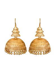 design of earrings roopa vohra tiered design jhumkas shop earrings at