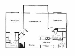 Split Floor Plan by East Hampton Estates Floor Plans
