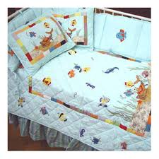 Aquarium Bed Set Patch Magic Aquarium 9 Crib Bedding Set Reviews Wayfair