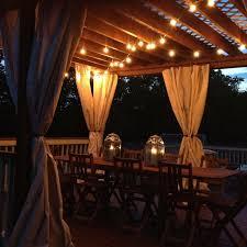 Outdoor Pergola Lights by 20 Best Pergola Lighting Images On Pinterest Backyard Ideas