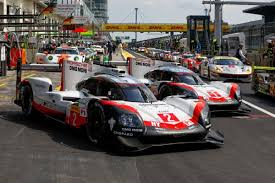 porsche 919 hybrid porsche 919 hybrids to start from first and second rows of the grid