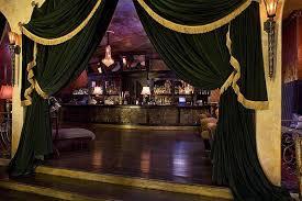 black velvet curtains for nightclub lounge entry way doorway