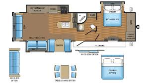 jay flight 34rsbs travel trailer floor plan