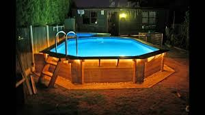 Backyard Deck Designs Pictures by Above Ground Pool Deck Pictures Ideas Youtube