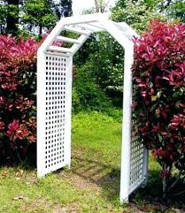 wedding arch kmart garden trellises arches arbor and picket fence garden arch with