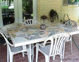 tile table top makeover tile table top musho me