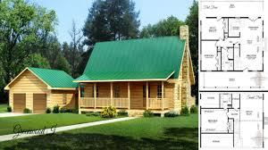 Simple Log Home Plans   plans simple log home rustic cabin floor open with plan small 1