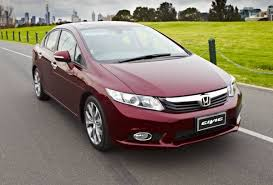 the new honda civic arrived in various countries around the world