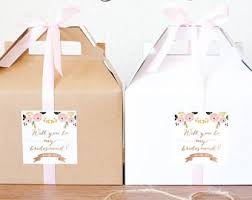 Gifts To Ask Bridesmaids To Be In Wedding Asking Bridesmaid
