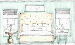 How To Draw A Bed Scale Drawing Learning The Basics Interior Design