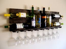 Kitchen Wine Cabinet Decorating White Wall Design In Modern Kitchen Plus Pallet Wine
