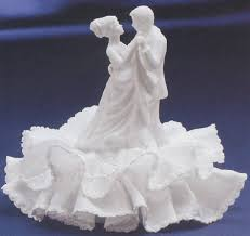 glass wedding cake toppers the and groom wedding cake topper can be made from
