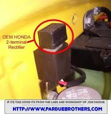 2 terminal honda plugin rectifier fits c70 u2022 ct70 u2022 1980 u0026 1981