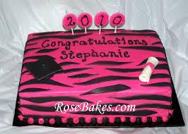 zebra stripes sheet cakes birthdays u0026 graduation with pink