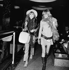 a look back at anita pallenberg u0027s glamorous groupie style