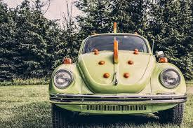 old volkswagen yellow old green car vw bug u2014 bossfight