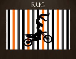 Sports Area Rug Dirt Bike Rug Rug For Boys Room Rug For Boys Sports Area Rugs