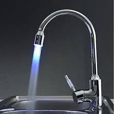 glacier bay touchless led single kitchen faucet with led light glacier bay touchless led single