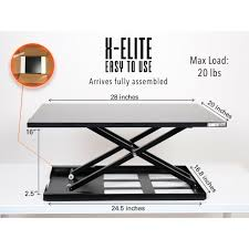 x elite pro sit stand standing desk stand steady