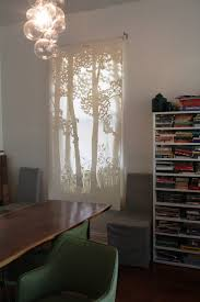 thepapercutter window treatments store displays french doors