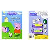 amazon uk peppa pig paper u0026 stickers arts u0026 crafts toys