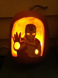 Puking Pumpkin Carving Stencils by Ironman Pumpkin Stensils Iron Man Pumpkin By Flourchild Artisan