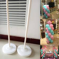 wedding arches and columns wholesale 120 cm balloon column balloon sticks base globos wedding