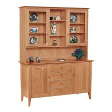 Oak Buffet And Hutch by Large Classic Shaker Buffet U0026 Hutch Vermont Woods Studios