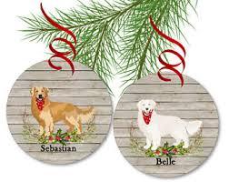 golden retriever ornament ornament personalized